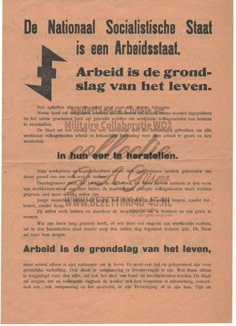 NSB Affiche: Tweede Kamerverkiezingen 26 mei 1937 7.1
