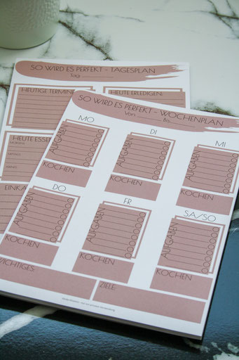 Planer für Familien, Familien Planer