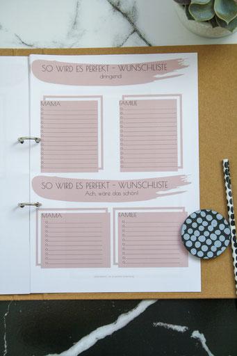 Planer für Mamas, Mama Planer