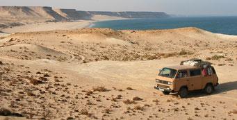AM ATLANTIK IN DER *WEST SAHARA*