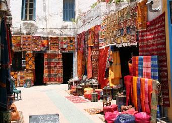 *Essaouira* ... MAROKKO ... DAS LAND DER BUNTEN TEPPICHE