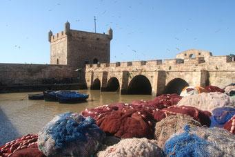 Fischerhafen in *Essaouira*