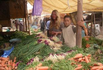 Markttag in *Rissani* ... eine kleine Oasenstadt nahe des Randes der Sahara