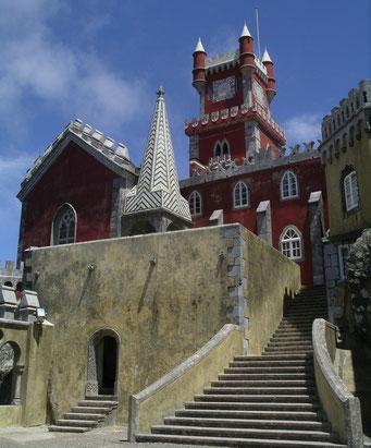 PORTUGAL / SINTRA - PALACIO DA PENA
