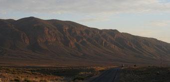 Bergkette kurz nach dem *Tizi-n-Tal Pass*