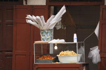Fritten- und Chips-Bude in *FES*