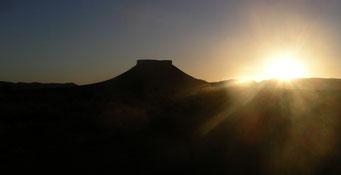Hinterland von *Taouz* ... nahe der algerischen Grenze auf dem Weg nach* Zagora*