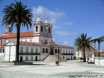 PORTUGAL / NAZARE - SANTUARIO DE NOSSA SENHORA DA NAZAERE