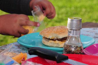 Burger a´la Black Pearl