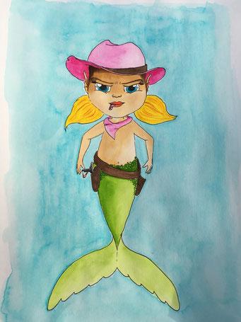 #western - Meerjungfrau