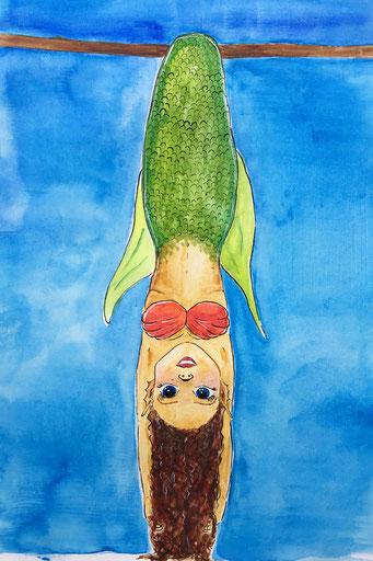 Meerjungfrau etwas #strange