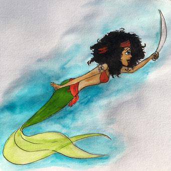 #pirate - Meerjungfrau
