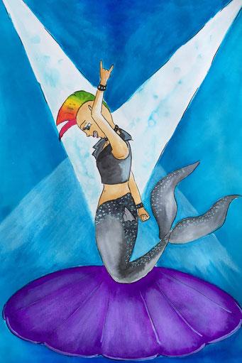 #rockstar - Meerjungfrau