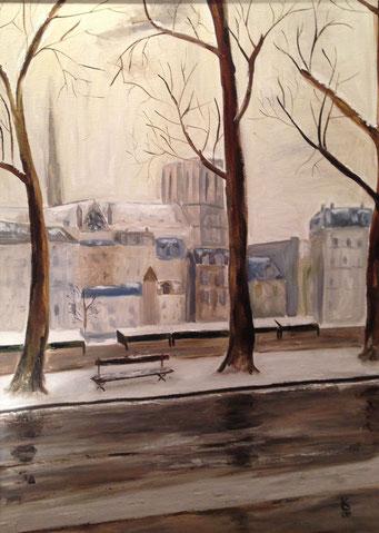 Paris sous la neige 3