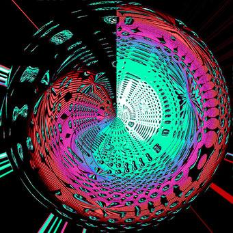 06. Blaue Energie-Spirale, Copyrights © Ramon Labusch