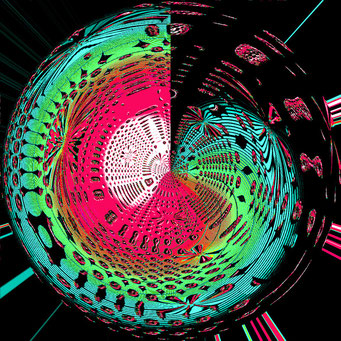 03. Blaue Energie-Spirale, Copyrights © Ramon Labusch