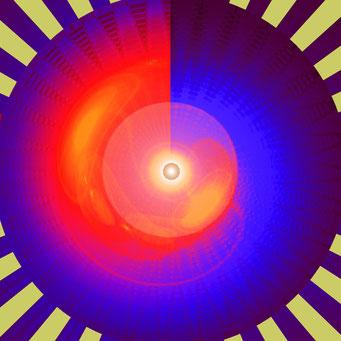 02. Blaue Energie-Spirale, Copyrights © Ramon Labusch