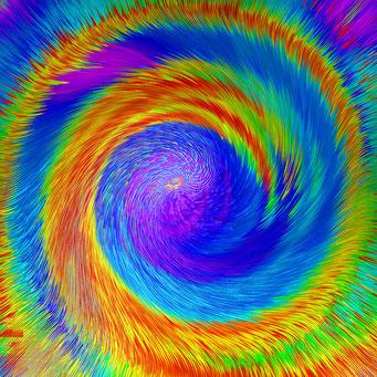 04. Blaue Energie-Spirale, Copyrights © Ramon Labusch