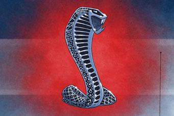 Cobra emblem is replicate in all details