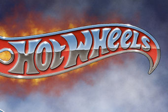 The Hot Wheels emblem appears in the background