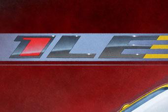 """Le logo 1LE d'arrière plan est dessiné de tous ses détails et qui est disponible sur le format personnalisé 12""""X18"""" et plus grand."""