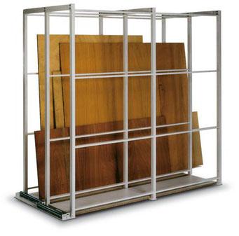 Plattenregal - Langgut Lagerung - Regal für stehende Lagerung - bei lagerconsulting.at