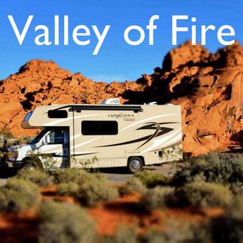 Wohnmobilreise USA Südwesten Valley of Fire  Reiseblog