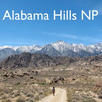 USA Südwesten Alabama Hills  Reiseblog