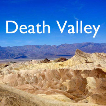 USA Südwesten Death Valley  Reiseblog