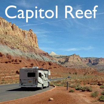 Wohnmobilreise USA Südwesten Capitol Reef  Reiseblog