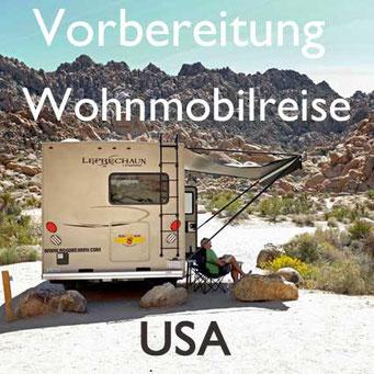 Vorbereitung Wohnmobilreise USA Reiseblog