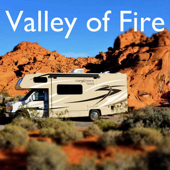 Wohnmobilreise USA Südwesten Valley of Fire  Reiseblog