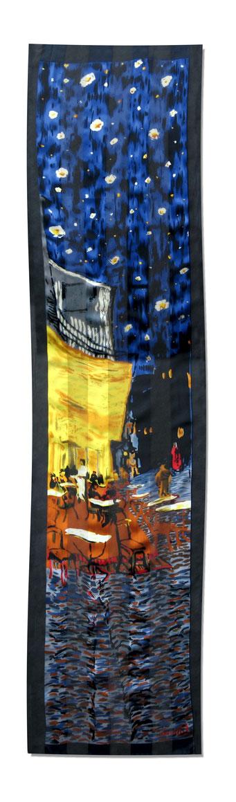 Artikel Nr. 2041 Nachtcafe - van Gogh (170 x 40 cm)