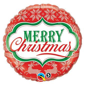 メリークリスマスノルディックパターン18947 45㎝