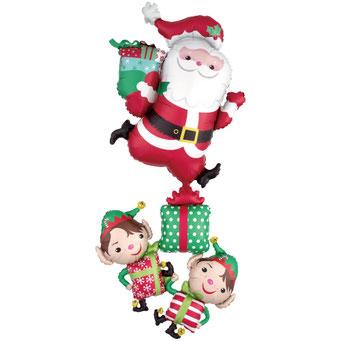 クリスマスキャラクターズスタッカー36346 73×160cm