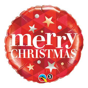 メリークリスマススターズレッド43474 45㎝