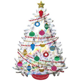 イリディセントクリスマスツリー40092 66×H91cm