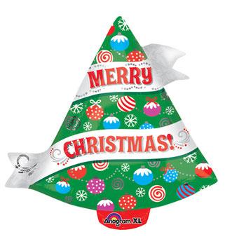 リボンクリスマスツリー31433 45㎝