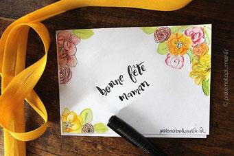 Style écriture pinceau