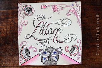 Modèle unique réalisé pour Liliane non reproductible