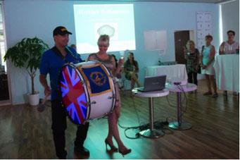 Ladiesfirst Hamm Clubgeburtstag und Neueröffnung mit Soloeinlage und Kirsten Bruennich