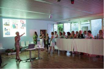 Ladiesfirst Hamm Clubgeburtstag und Neueröffnung Eröffnungsrede von Kirsten Bruennich