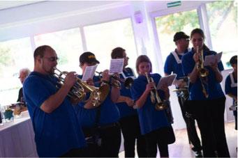 Ladiesfirst Hamm Clubgeburtstag und Neueröffnung mit Trompeten