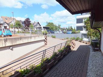 Ferienwohnung Schanzenblick - Straße