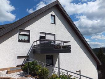 Ferienwohnung Schanzenblick - Balkon