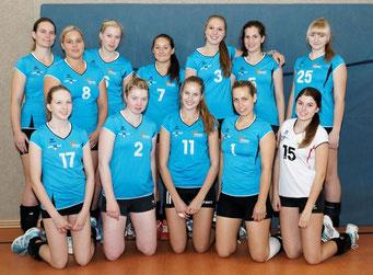 1.Damen Verbandsliga 2013/14 10.Platz