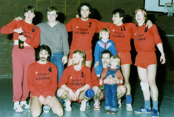 1.Herren (gab nur eine)  Bezirksliga Aufstieg 1987