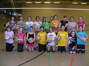 Volleyball AG Mädchen 5./6. Klassen 2013