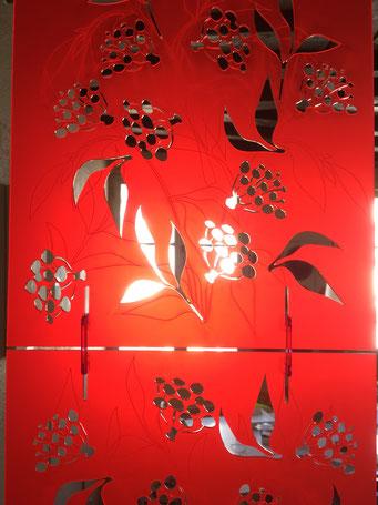 MODULE PARAVENT SUSPENDU SUREAU//30x60 cm sur commande, couleur au choix-120€TTC