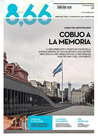 Revista 8.66 / 2012 / publicación Concurso Concejo Deliberante de Santiago del Estero.